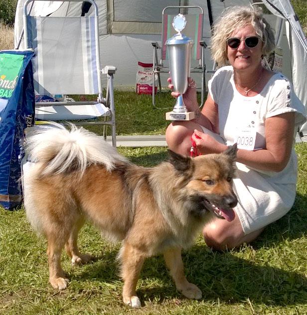 Læs mere om vores hund Eistla